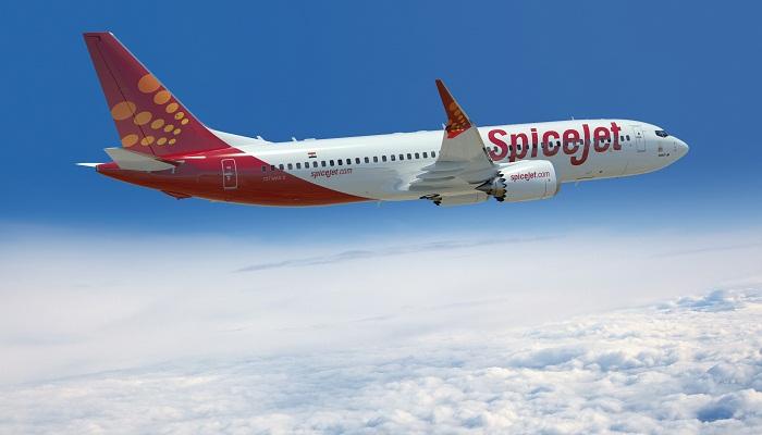 SpiceJet 737 MAX8 Artwork